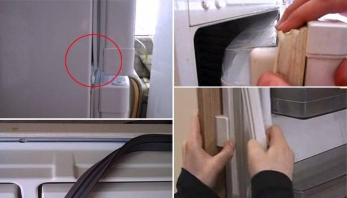 Уплотнитель для холодильника: ремонт и замена своими руками, советы специалистов