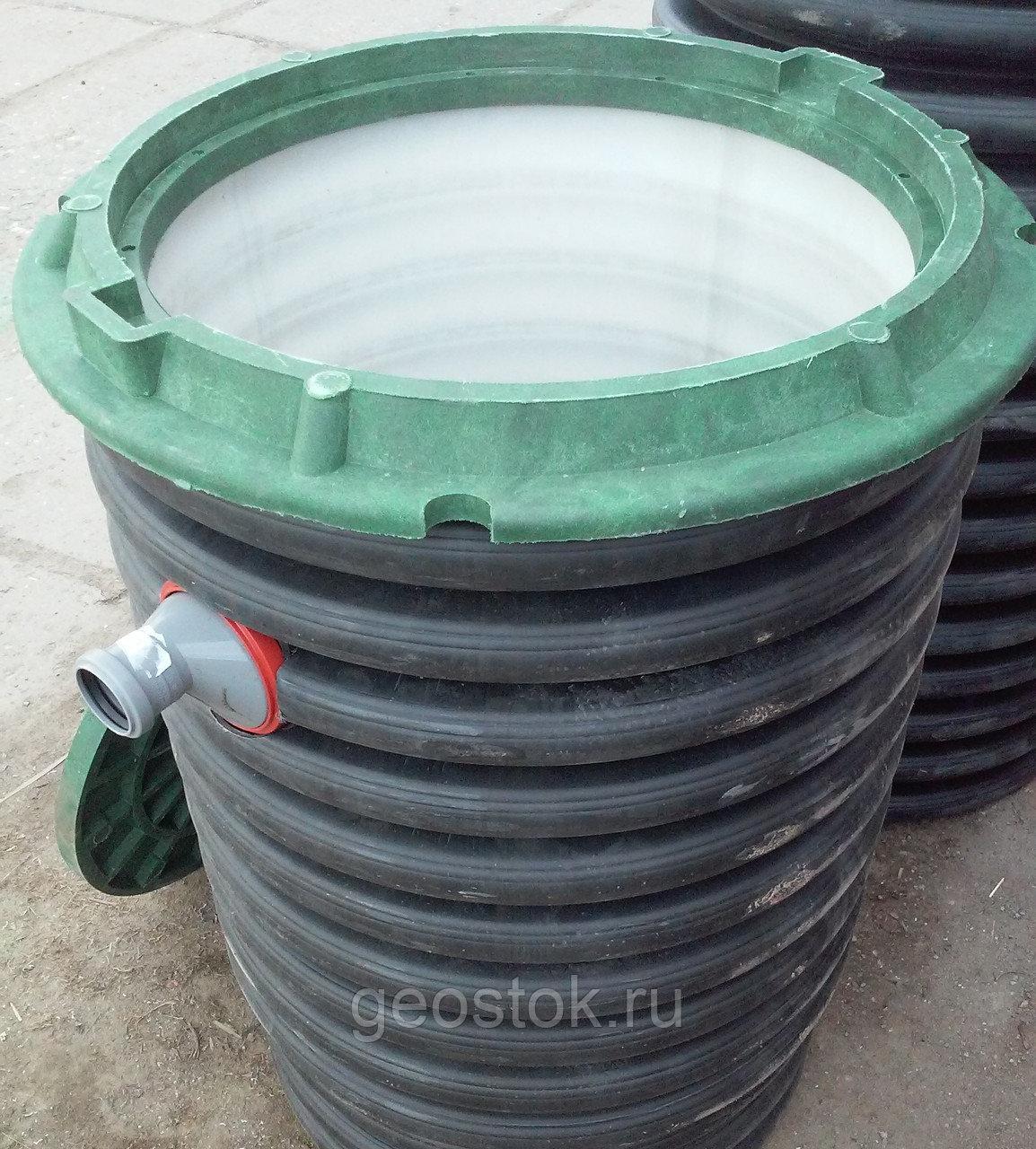 Пластиковые канализационные колодцы — обзор полиэтиленовых и полимерных видов
