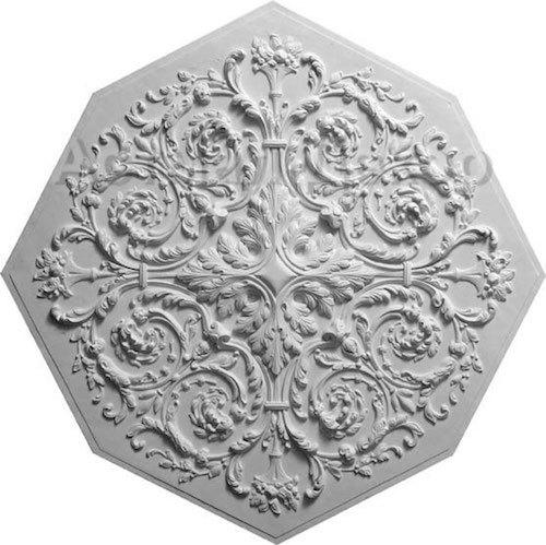 Потолочная розетка: из полиуриетана, под люстру, с подвесом