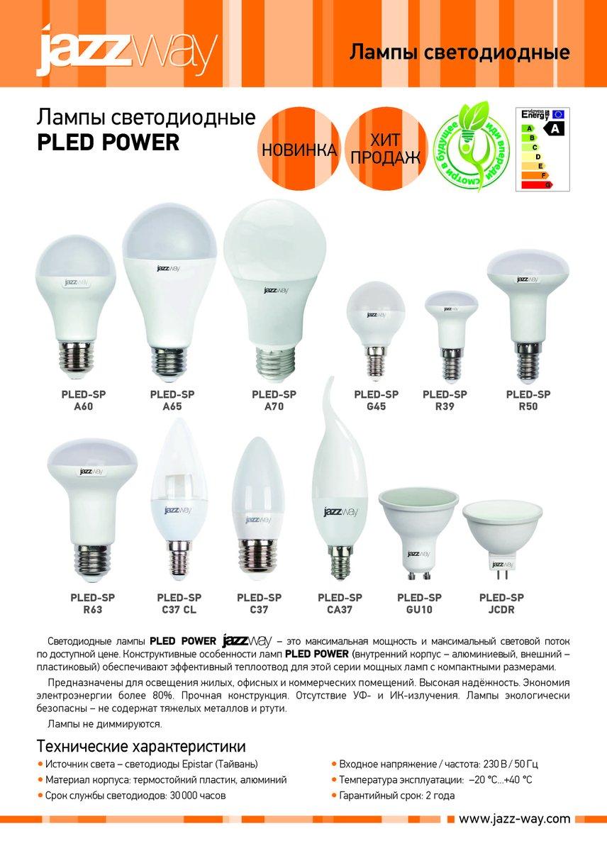 Светодиодные светильники jazzway: отзывы и характеристики
