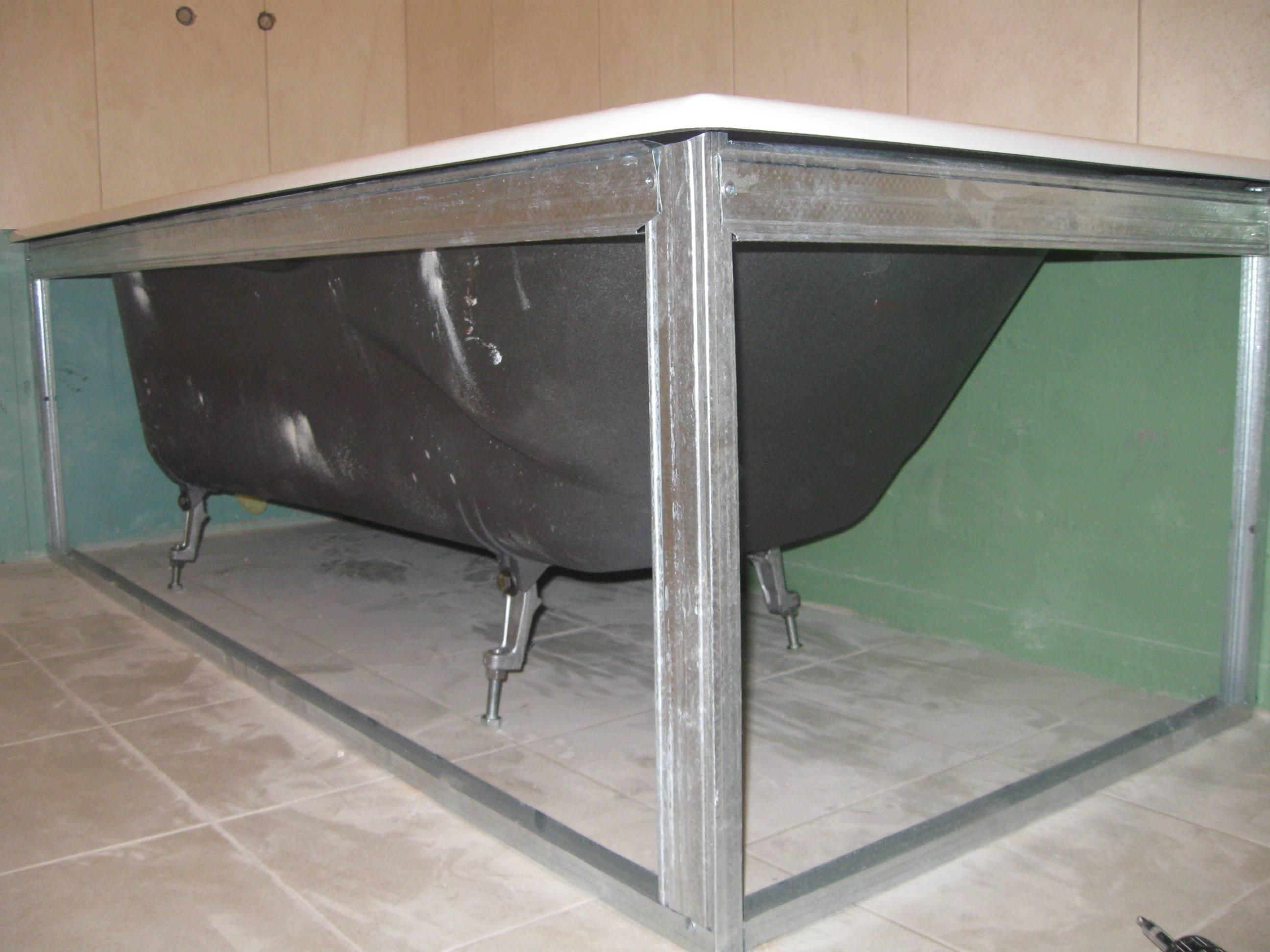 Как установить экран под ванну? важные аспекты монтажа