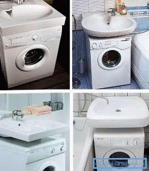 Раковина над стиральной машиной - как выбрать и установить