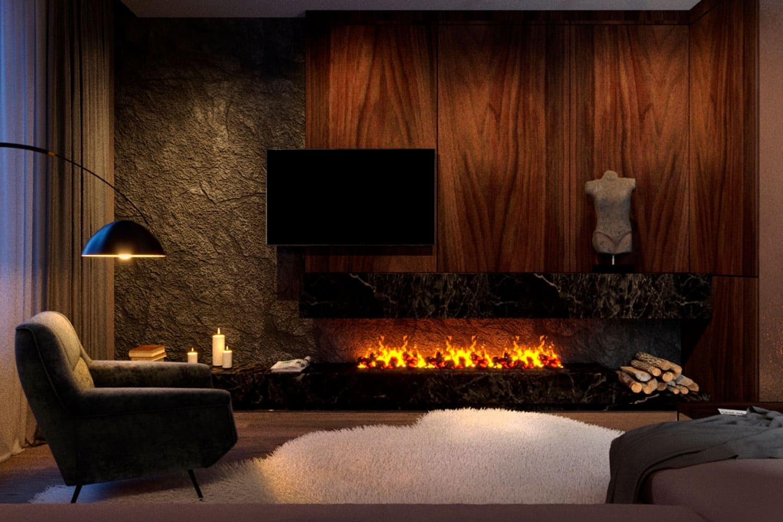 Электрический камин в квартире (68 фото): как выбрать современные электрокамины, сколько стоит электро, оформление