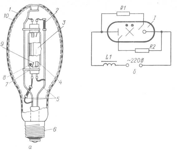 Дрл 250: вес, мощность лампы, цоколь для лампы, срок службы