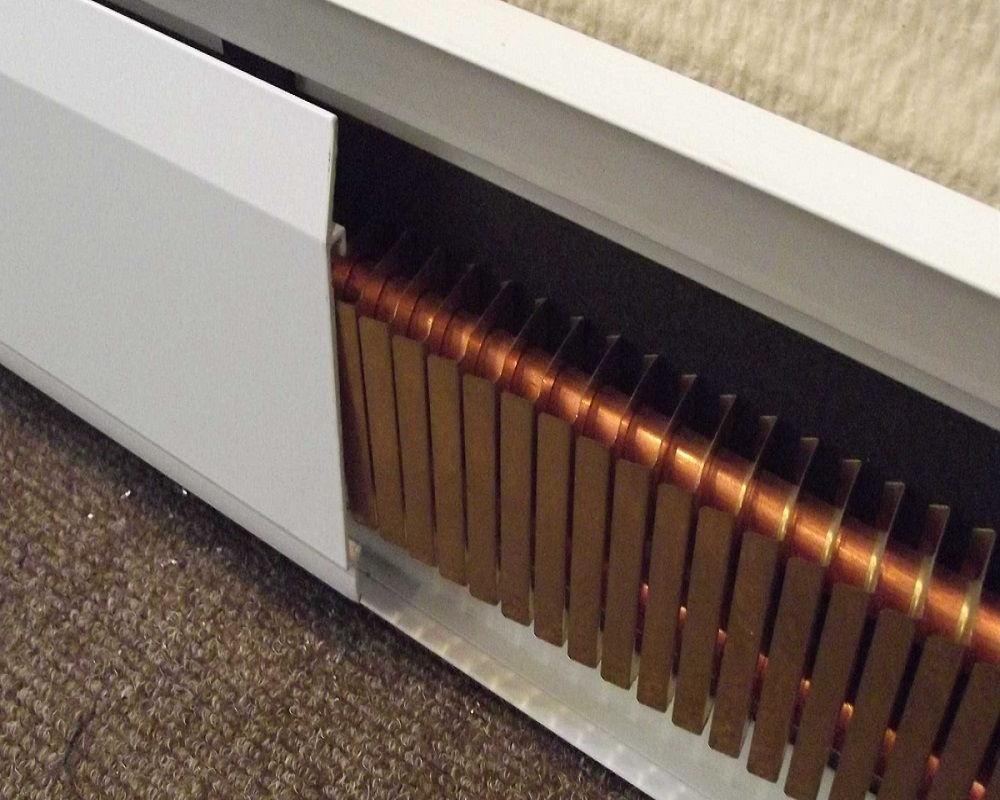 Надёжная система отопления: теплый водяной плинтус — цена, отзывы и рекомендации по установке