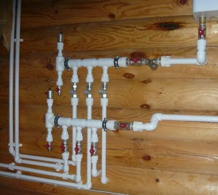 Качественный монтаж водопровода из полипропиленовых труб своими руками в доме