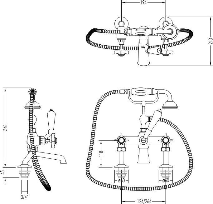 Установка смесителя на акриловую ванну: последовательность монтажа