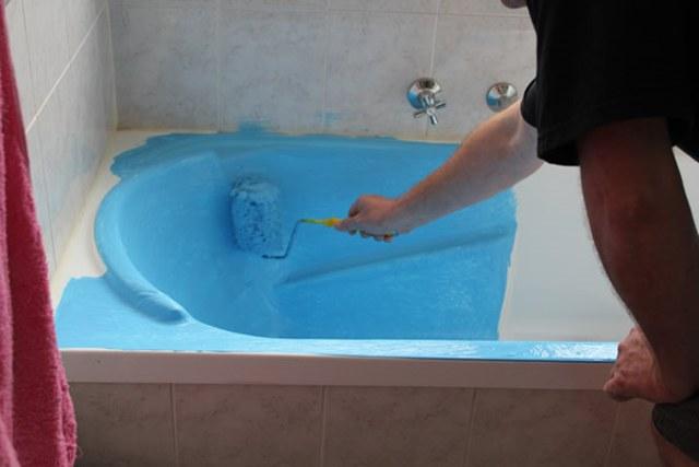 Реставрация чугунных и стальных ванн своими руками