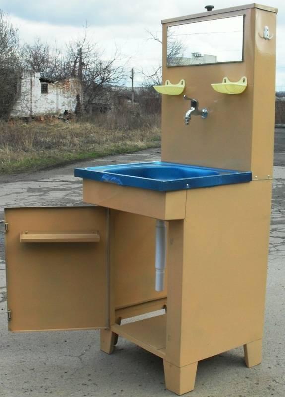 Уличный умывальник для дачи и сада: выбираем готовый или делаем своими руками | строительный блог вити петрова
