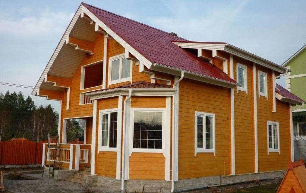 Обшивка деревянного дома: как выбрать фасадные термопанели?