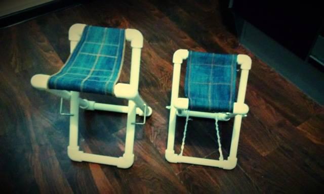 Поделки из полипропиленовых труб своими руками – как сделать стул и другие полезные вещи, представлены фото и видео материалы