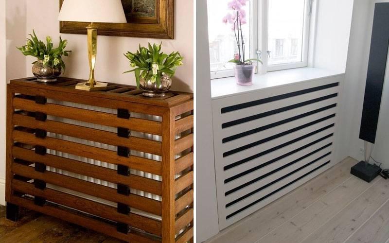 Теплодекор: как закрыть радиатор отопления экраном и чем это лучше сделать | stroimass.com