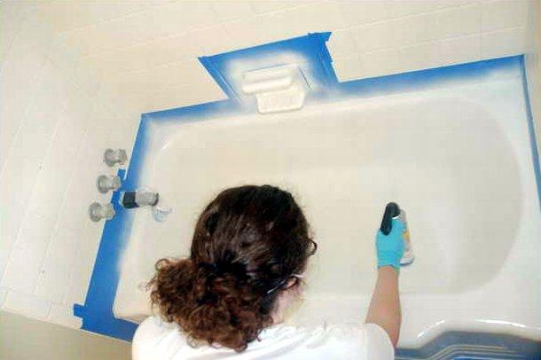 Краска для чугунной ванны - чем покрасить чугунную ванну внутри и снаружи