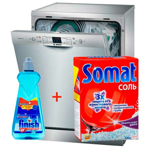 Соли для посудомоечных машин