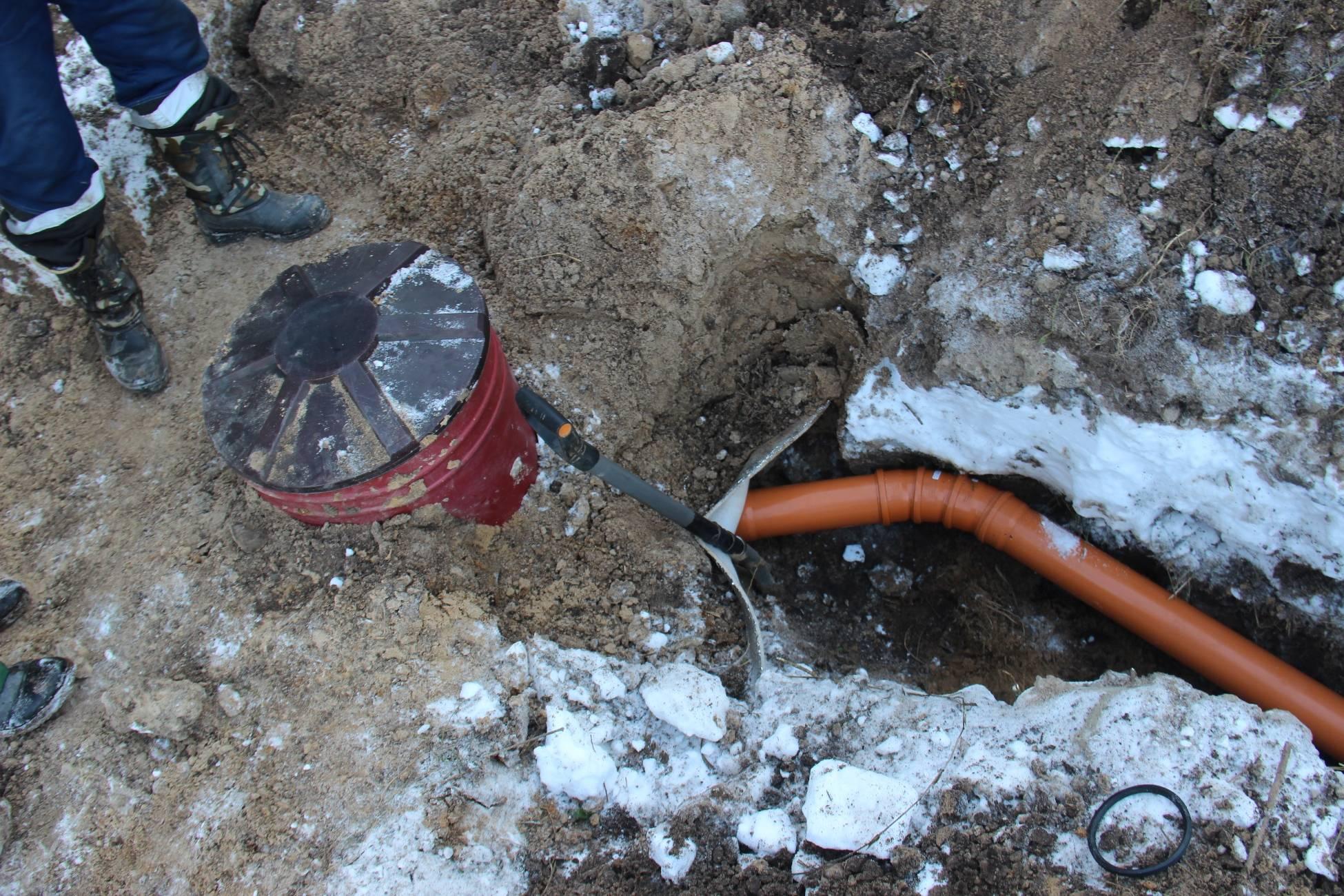 Септики зимой - все о канализации