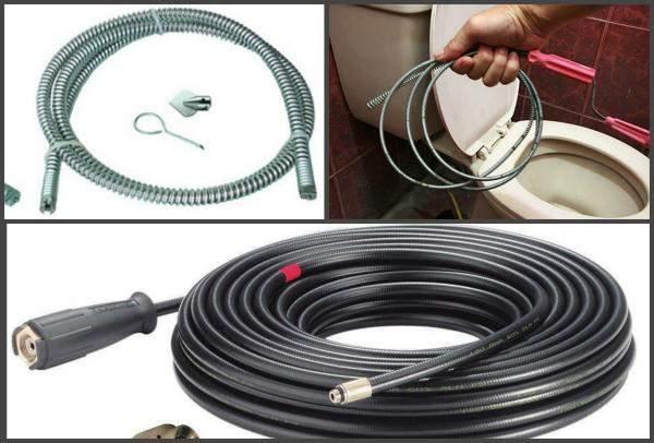 Сантехнический трос для прочистки канализации - устройство для ручной очистки канализации