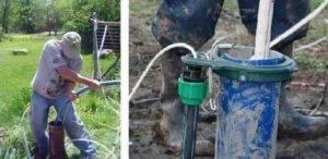 Как установить насос в скважину своими силами