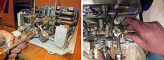 Как и чем можно самостоятельно почистить газовую колонку в домашних условиях?
