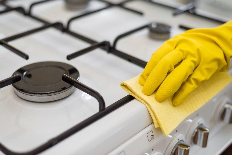 Как отмыть газовую плиту из эмали и нержавейки? как почистить газовую плиту от нагара и жира?