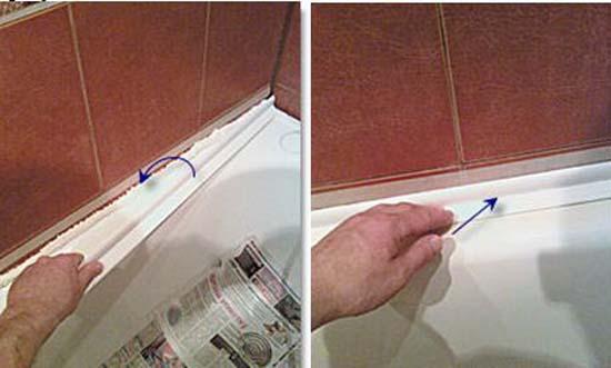 Керамический бордюр для ванной - виды, укладка и выбор уголка