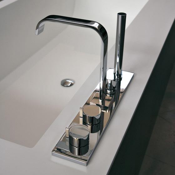 Как установить смеситель на акриловую ванну, инструкция