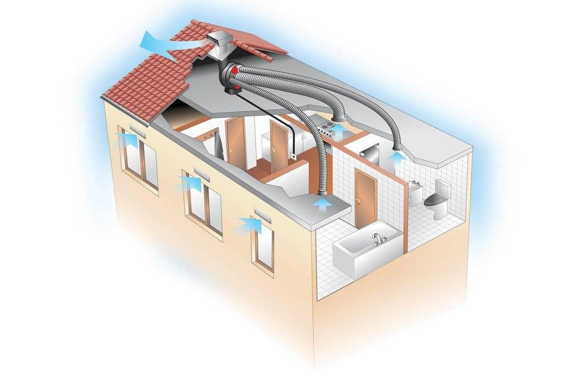 Вентиляция в квартире своими руками — как сделать эффективную систему
