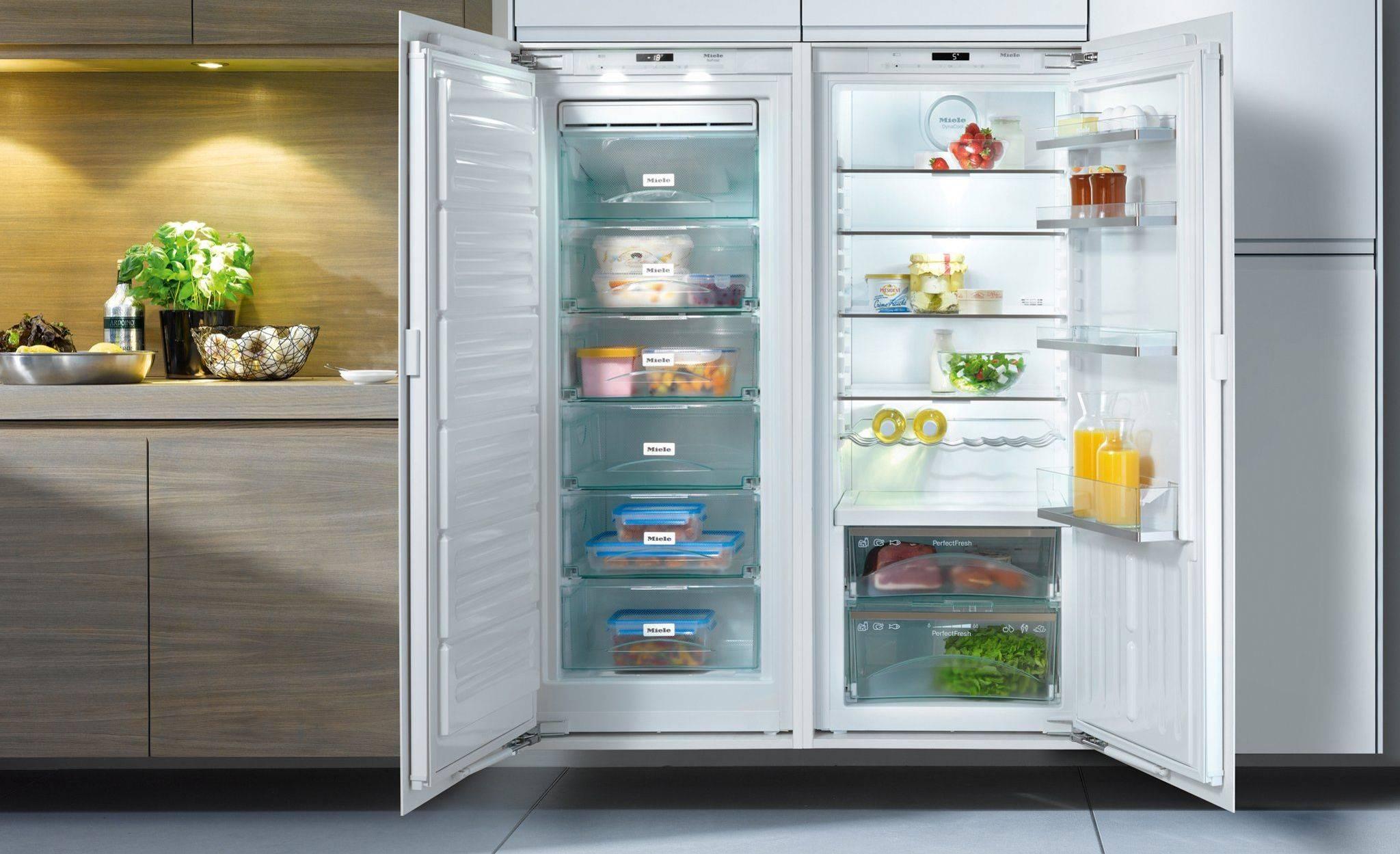 Рейтинг топ 7 лучших холодильников side-by-side