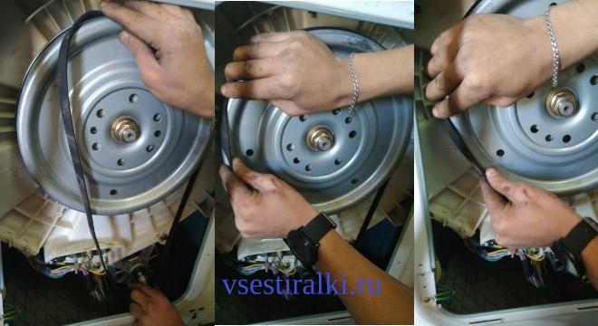 Ремень для стиральной машины: виды, выбор и устранение неисправностей