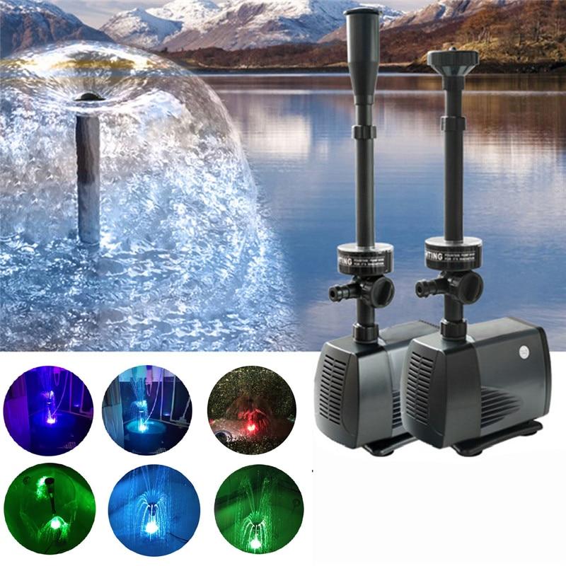 Насос для фонтана - типы оборудования, как выбрать подходящий