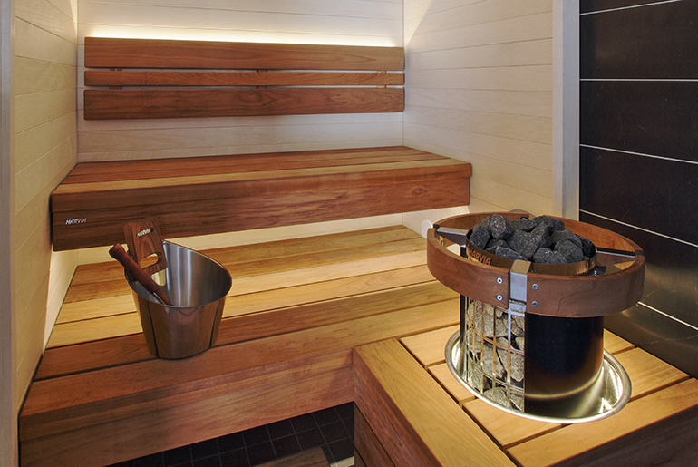 Электрическая печь для бани