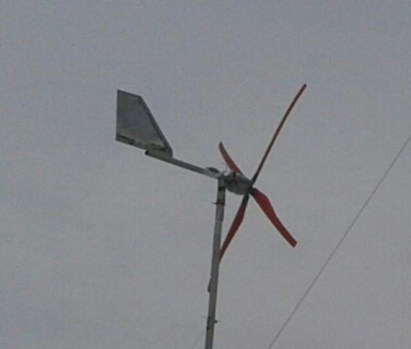 Как изготовить ветряк своими руками из машинного генератора