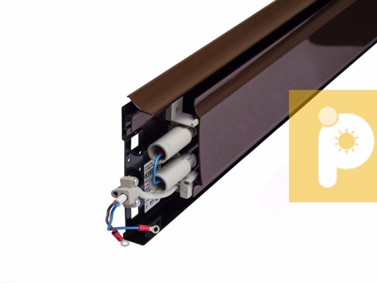Теплый плинтус электрический: устройство и принцип действия, порядок установки