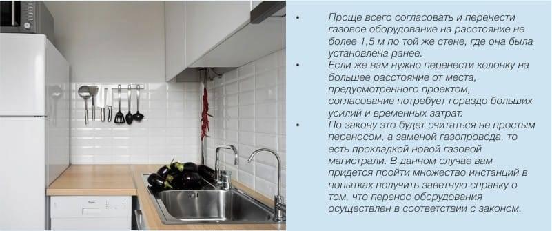 Узакониваем перенос кухни в жилую комнату — основания