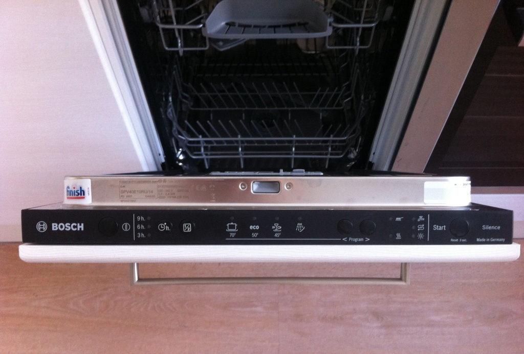 Посудомоечная машина bosch spv47e30ru: обзор функций - точка j