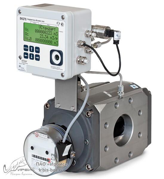 Корректор давления для газового счетчика