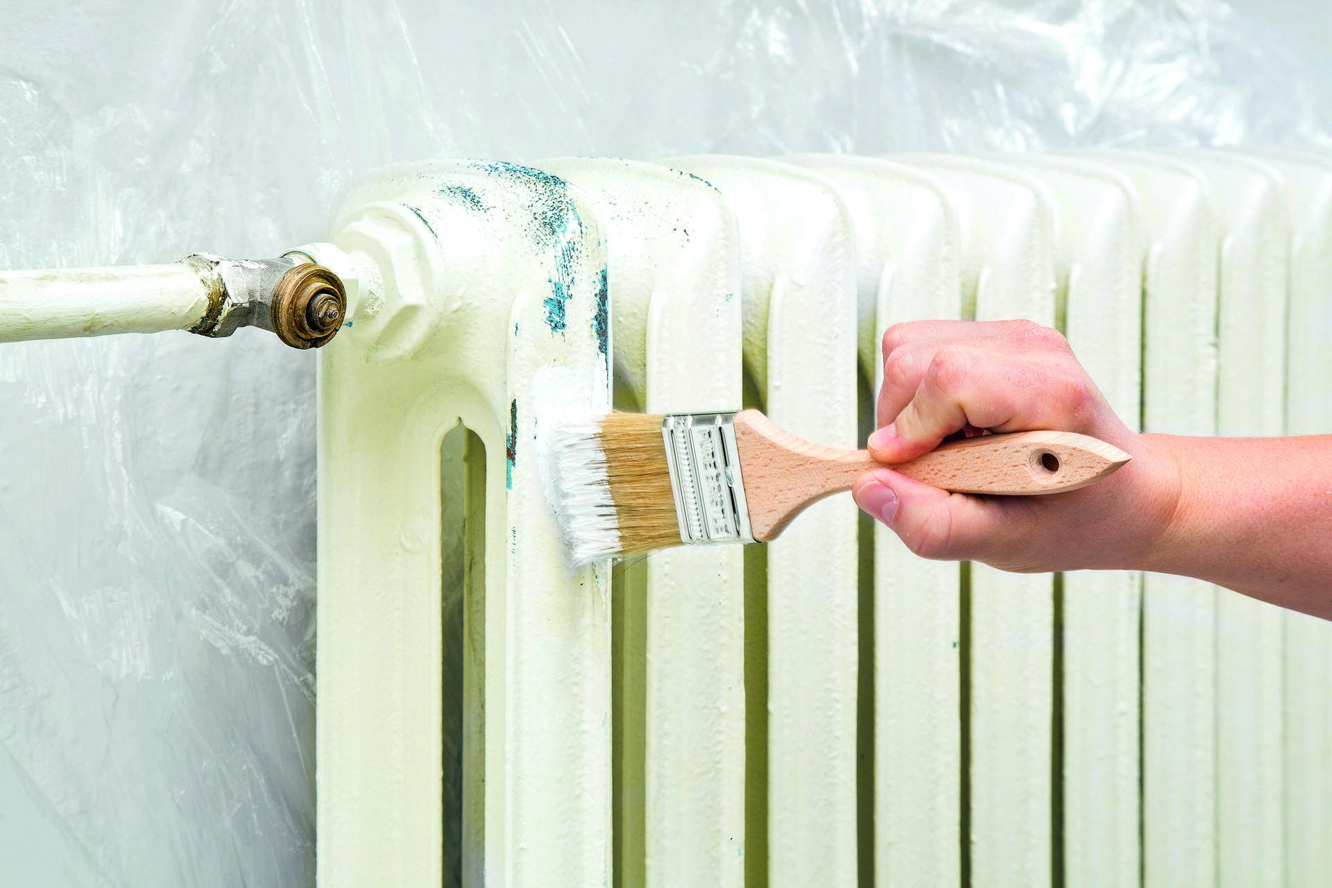 Покраска батарей своими руками: подготовка, технология, краска