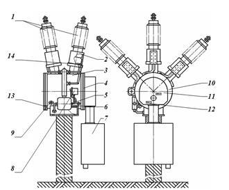 Элегазовые выключатели: виды + правила и особенности эксплуатации - точка j