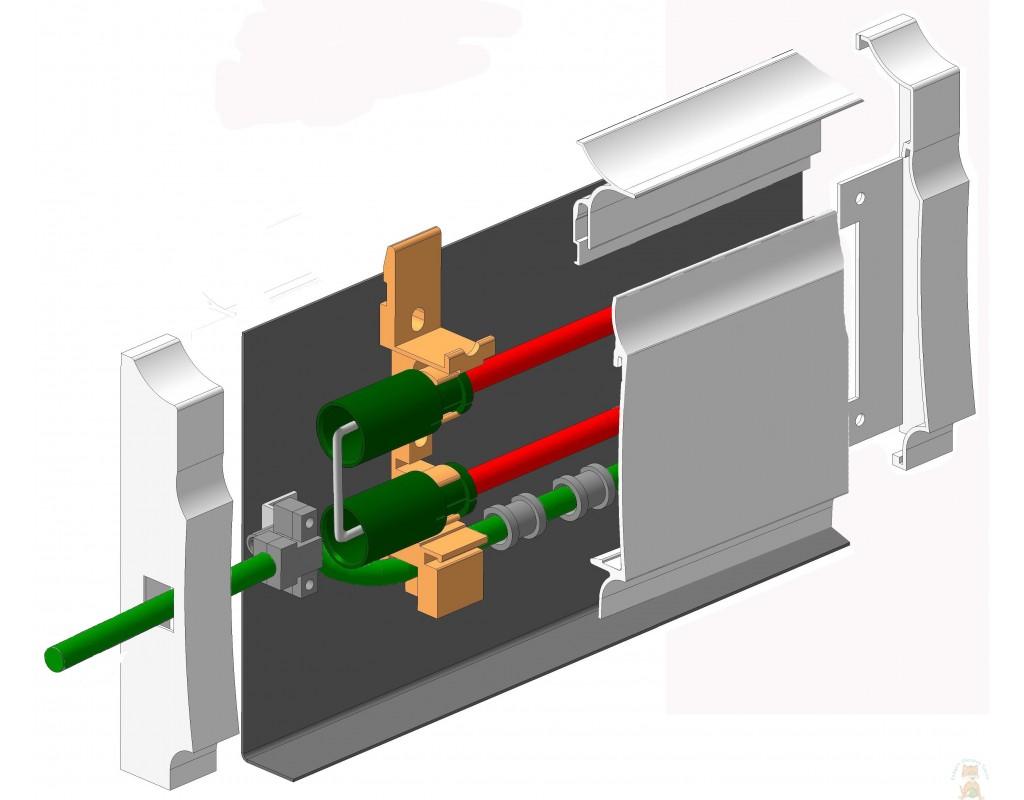 Что такое плинтусное водяное и электрическое отопление - все о строительстве и инструментах