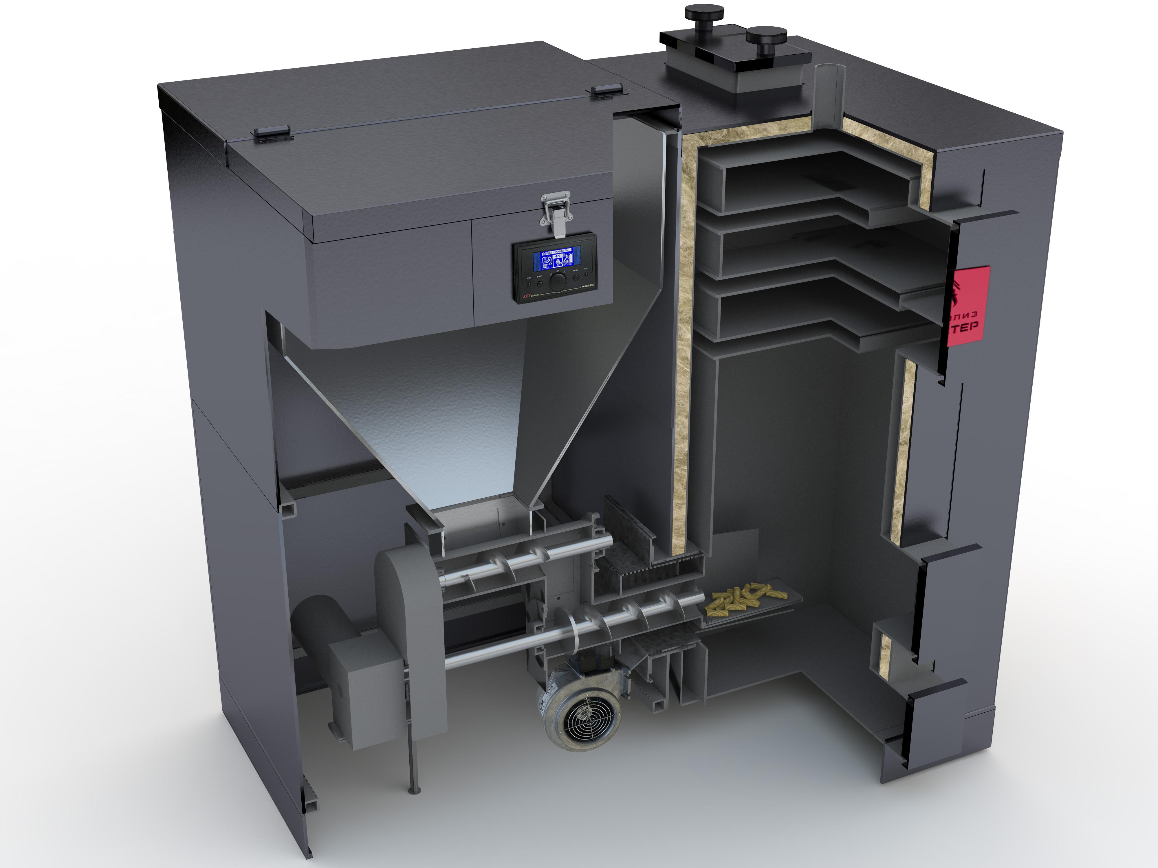 Автоматический пеллетный котёл: типы топлива, расход, производитель, как выбрать?