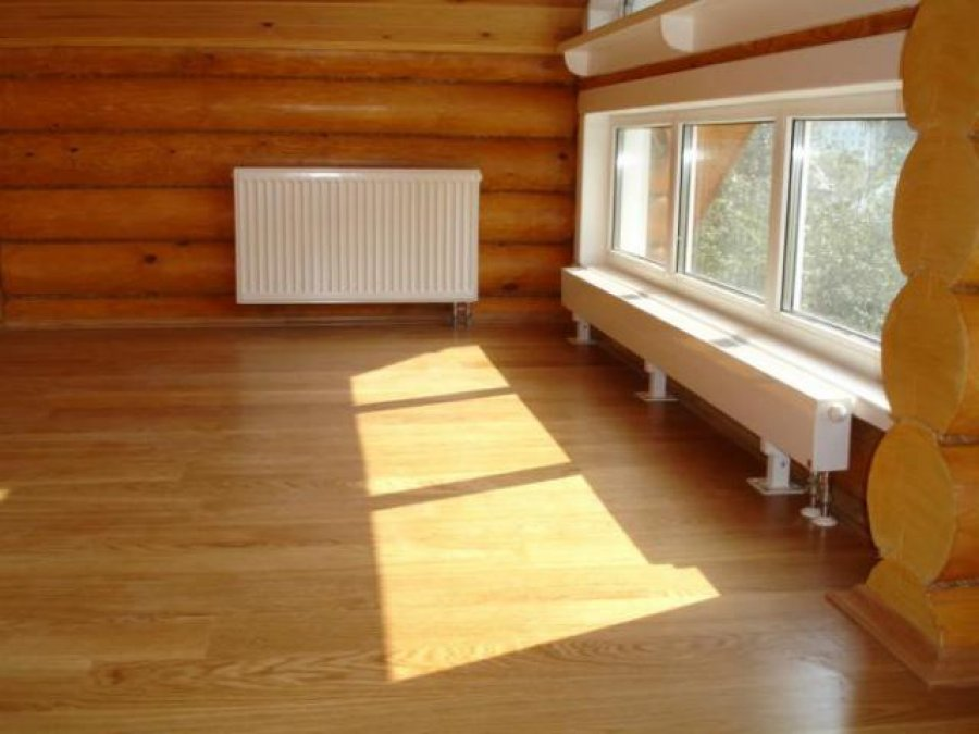 Отопление деревянного дома — варианты, их преимущества и недостатки