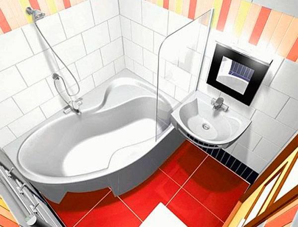Как правильно подобрать маленькую угловую ванну?