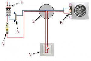 Как подключить вентилятор с датчиком влажности: схемы и правила монтажа + советы по выбору канального вентилятора