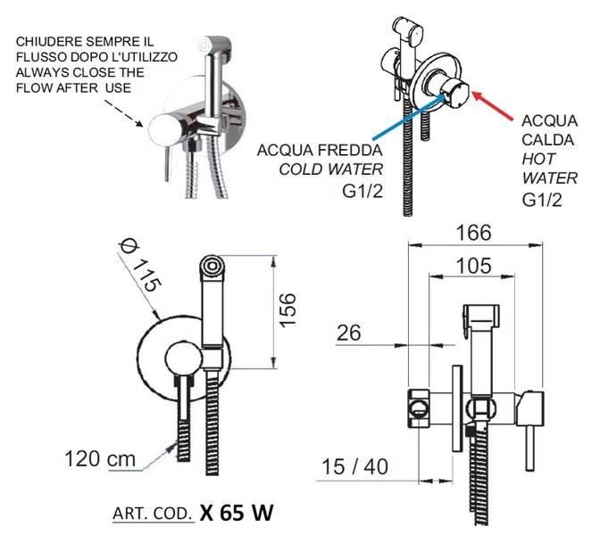 Гигиенический душ в туалете. назначение и порядок монтажа