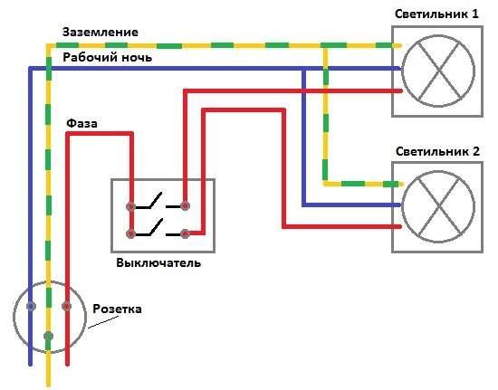 Розетка с выключателями в одном корпусе – установка, подключение и стоимость
