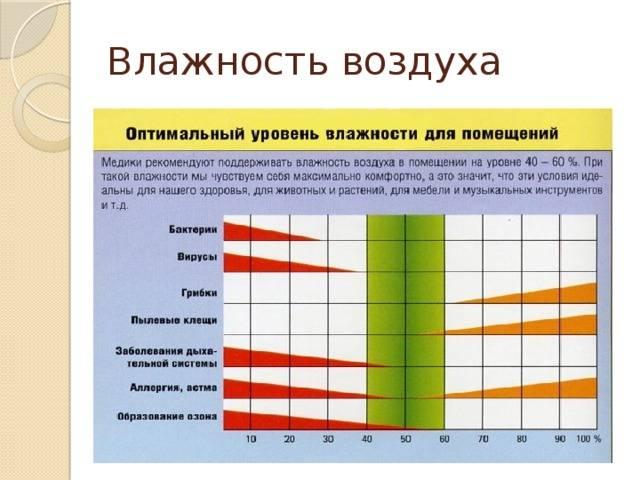 """Исследовательская работа по физике """"влажность воздуха и ее влияние на здоровье человека"""" (8 класс)"""