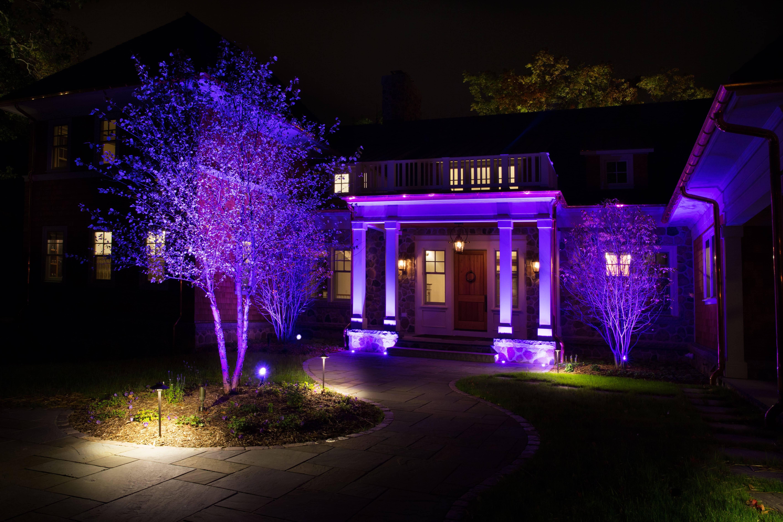 Освещение загородного дома – популярные конструкции и правила дизайна наружного освещения (85 фото)