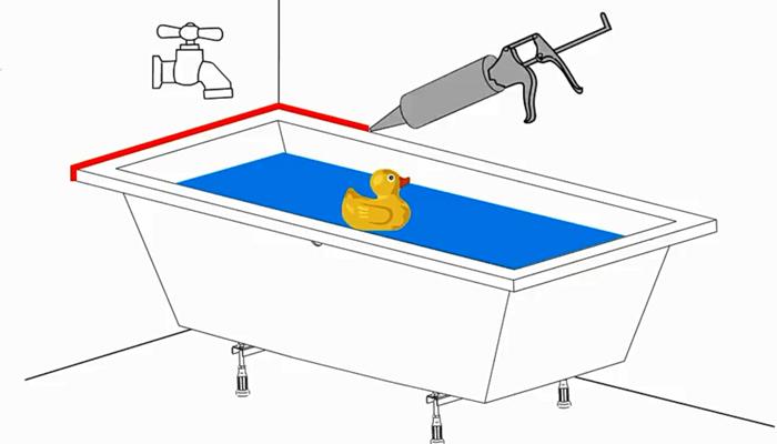 Установка ванны своими руками: обзор всех возможных способов монтажа
