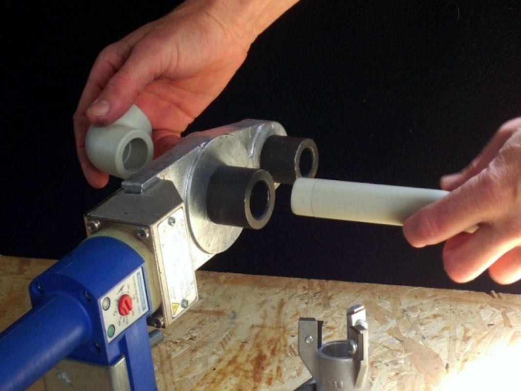 Монтаж полипропиленовых труб своими руками: технология работ