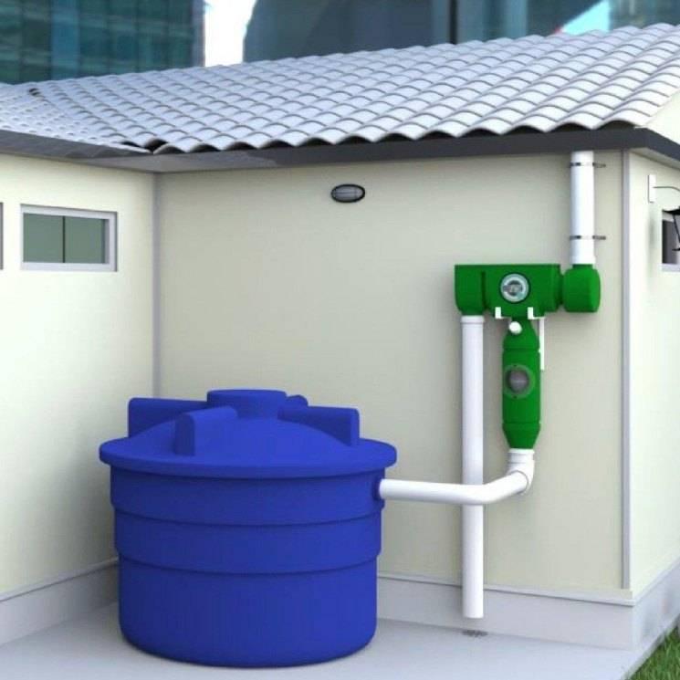 Сбор дождевой воды - как использовать дождевую воду на дачном участке?