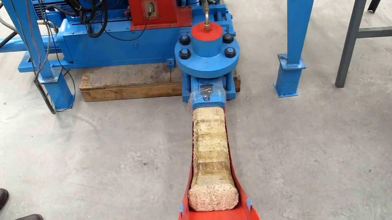 Тонкости изготовления пресса для топливных брикетов своими руками